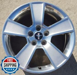Ford Mustang 2006 2009 Factory Oem Wheel 18 Rim 3647 Silver With Cap Tpms B