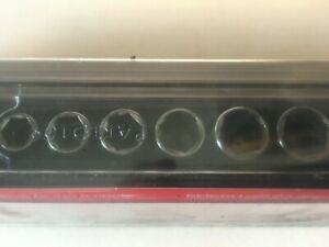 New 12 Pc 1 4 Drive 6 Point Flank Drive Semi Deep Metric Socket Set 5 15