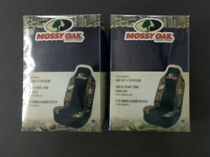 2 Mossy Oak Universal Seat Covers Camo Camouflage Msc4409