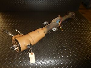 Jeep Cherokee Xj 84 95 Tan Automatic Tilt Steering Column W Key Free Ship
