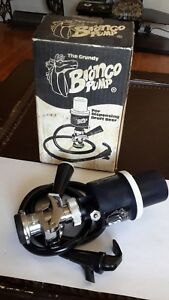 Bronco Pump Keg Tap System Micro Matic Domestic Beer Grundy Brewriana Party Blac