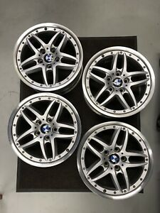 Bmw Square Set Cromodora Style Two Piece Oem Wheels Almost Perfect Used Set