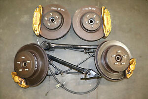Jdm Subaru Forester Sg9 Sti Wrx 5x100 Hubs Disk Brake Conversion Brembo Calipers
