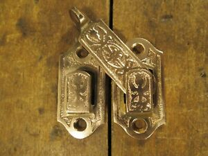 Antique Victorian Interior Shutter Latch Hardware