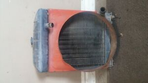 Early 60 s Ford 671 Select o speed Oem Radiator