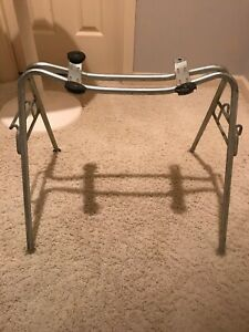 Eames Vtg Aluminum Wide Mount Base For Shell Chair