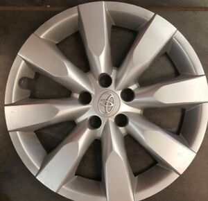 One 2014 15 2016 Toyota Corolla 16 Wheel Covers Oem Hubcaps Factory 61172