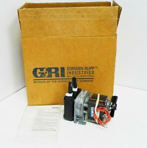 Gri Peristaltic Pump 230vac 60 Rpm 50 60 Hz Model 30600 004 New