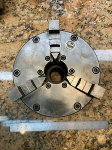Buck 4733 7 1 2 3 Jaw Lathe Chuck W D1 4 Backing Plate Y109