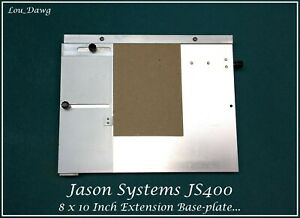 Jason Systems Js400 8x10 Inch Extension Base plate Hot Foil Stamping Machine