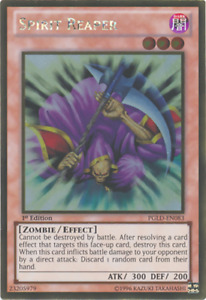Yugioh Zombie Madness Deck 40 Card Heavy Storm Spirit Reload Free Pack Hard Case