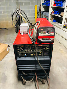 Lincoln Tig 250 Ac dc Water Cooled Tig Welder