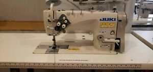 Juki Lh 3528a Double Needle Lockstitch Industrial Sewing Machine Head And Table
