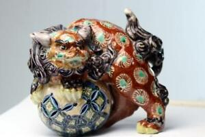 Antique Chinese Porcelain Foo Dog Statue