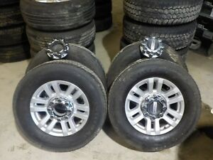 4 2017 2018 Ford F250 18 Alloy Wheels And Continental Tires Bb14i