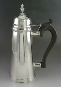 Wonderful Sterling Silver Stieff Colonial Williamsburg Lighthouse Coffee Pot
