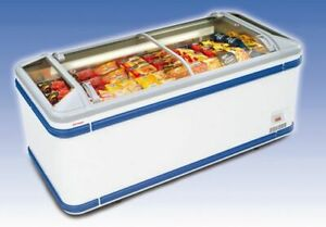 Aht Malta 185 Commercial Ice Cream Display Chest Freezer With Sliding Glass Top