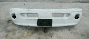 As Seen Used Fits 99 00 01 02 Dodge Ram 1500 2500 Front Bumper Sport Package Oem