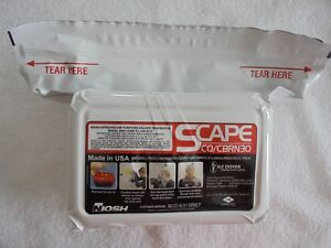 Scape Co cbrn30 Air Purifying Escape Respirator Model 6000 11300 Tc 14g 0312