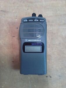 Motorola Spirit Sv52 p33vna20a2aa W Belt Clip No Battery Or Antenna It Works