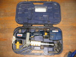 Lincoln Lubrication 1244 1244e Powerluber 12 Volt Cordless Grease Gun used