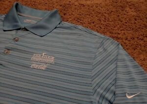 Men's NIKE GOLF Tour Championship Presented by by Coca-Cola Polo Shirt Large