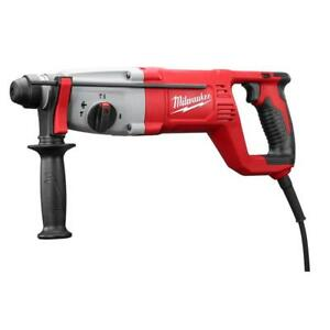 Milwaukee 5262 21 1 Sds Plus Rotary Hammer Kit Corded With Warranty And Case