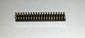 3x20 Pin 2 54mm Triple Row Straight Male Header Pcb Mount Connector Lot Gold