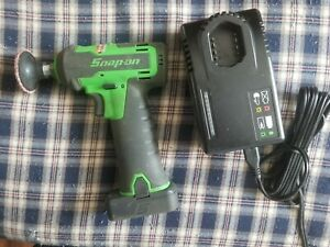 Snap On Cordless Polish prep Tool Ctpp761a Extreme Green W Battery