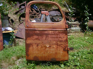 39 40 41 46 Chevy Pu Truck R Door Hot Rat Rod Gmc