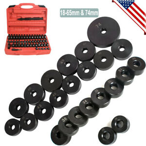 Us 50pcs Kit Bearing Seal Driver Tool Custom Bushing Bearing Hydraulic Press