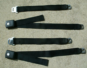 1968 1969 Ford Mustang Shelby Cougar Fairlane Seat Belts