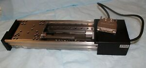 Newport High Precision Linear Stage Z609a Motor L404 032 Encoder
