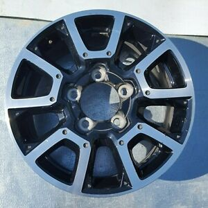 18 Inch Toyota Tundra 2014 2019 Black Machined Oem Factory Wheel Rim 75157