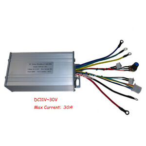 Dc 12v 24v Brushless Motor Controller High Power 30a Hall Hydraulic Pump Driver