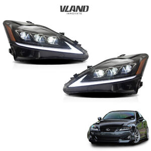 Led Headlights For 2006 2012 Lexus Is 250 350 Isf Front Lights Assembly
