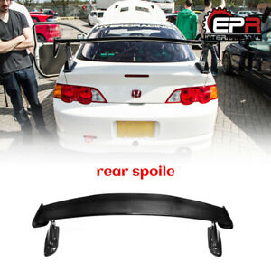 For 02 06 Honda Integra Dc5 Acura Rsx Mu Style Carbon Rear Trunk Spoiler Wing