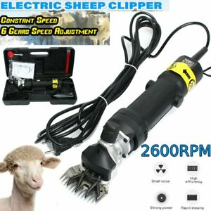 Electric Sheep Goats Clipper Shears 1 Sets 13 Traight Tooth Blade Comb Us Bt
