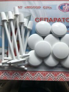 10 Milk Stoppers And 10 Floats For Electric Cream Milk Separator 80 100l 1 Lot