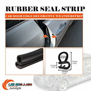 120 Door Rubber Seal Weatherstrip Trim Defend Car Parts Accessory Waterproof