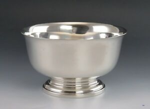 Solid Sterling Silver Cartier Paul Revere Colonial Form Bowl