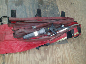 Akron Assault Fire Fighting Nozzle W Foam Aeration Kit W Hose In Bag