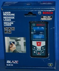 Bosch Blaze Glm 42 135 Ft 40m Laser Measure