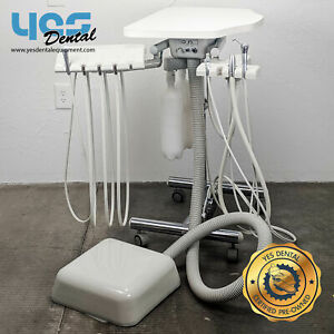 Pelton And Crane Fct 15 Dental Delivery And Assistant Cart yes