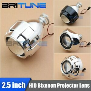 Hid Bi Xenon Projector Lens Mini Light 2 5 H1 H4 H7 Car Motorcycle Headlight