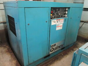 Quincy Model Qsi 245 50hp 480v 3ph Rotary Screw Air Compressor Both Water