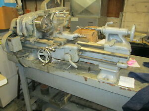 South Bend Cat No 415yc 3ft Bed 9 swing Belt Driven Bench Lathe W 3 jaw Chuck