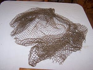 Vintage Antique Fishing Net Decor Decoration About 64 X 40