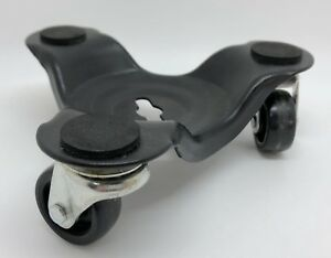 Set Of 4 Tri wheel Super tri Dolly 6 Padded Furniture Moving Casters rf901