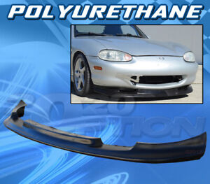 Type Gv Polyurethane Pu Front Bumper Lip Spoiler Body Kit For 99 04 Mazda Miata